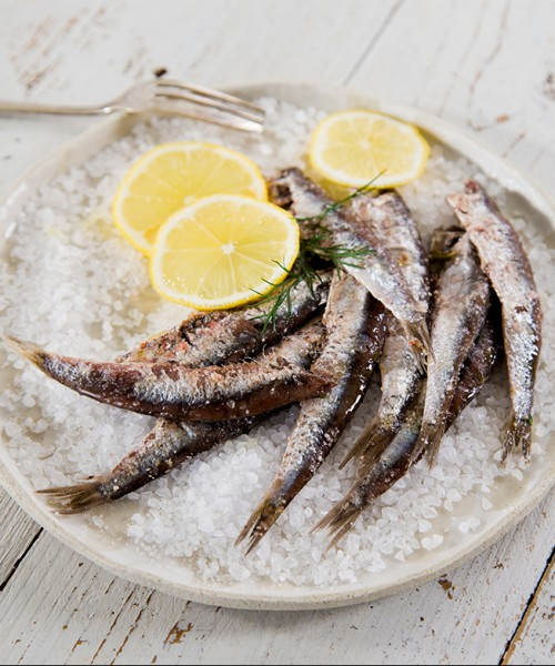 Anchovies Salted