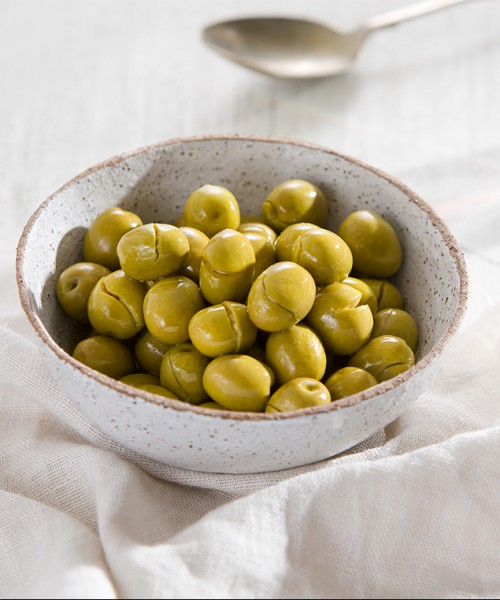 Chrushed Green Olives