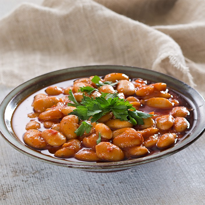 Lima Beans in Sauce