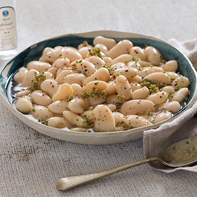Lima Beans in VinegarOil